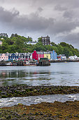 Tobermory, famous colorful village on the Isle of Mull, Scotland