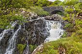 Isle of Mull waterfall, Scotland