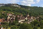 Autoire, labelled Les Plus Beaux Villages de France, The Most Beautiful Villages of France, Haut Quercy, Lot, France, Europe