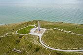 Dover Patrol monument, Cap Blanc-nez, Hauts de France, France