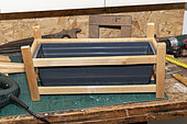 Making a planter with reclaimed wood