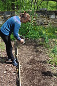 Covering seeds, Sowing in the open ground, Permaculture sowing