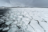 Murchinson Bay, Murchisonfjorden, Nordauslandet, Svalbard Islands, Norway.