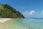 Ko Kradan tropical beach, Talay Trang archipela, Thailand