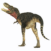 Tarbosaurus was a carnivorous theropod dinosaur that lived during the Cretaceous Period of Asia.