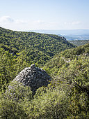 Borie in the Luberon Regional Nature Park, France