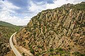 Landscape of Castilla-La Mancha, Spain