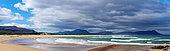 Kleinmond beach and cloudy sky. Overberg, Whale Coast, Western Cape. South Africa