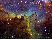 Part of the IC 1805 (Heart nebula) in Cassiopeia