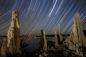 The popular South Tufa area contains some of the most dramatic examples of tufa formations at Mono Lake, California.