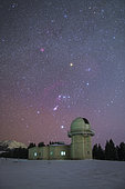 Orion set above Nanshan observatory near Urumchi, Xinjiang, China.