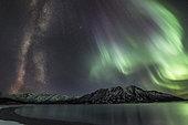 Milky Way, Kluane National Park, Yukon, Canada.