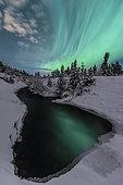 Northern lights, Yukon, Canada.