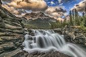 Athabasca Falls, Jasper National Park, Alberta, Canada.