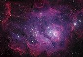 Messier 8, the Lagoon Nebula.