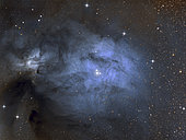 IC 4603 is a blue reflection nebula in Ophiuchus.