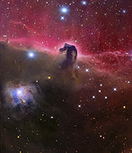 The Horsehead Nebula, Barnard 33 in the Orion constellation.