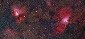 Eagle Nebula and Swan Nebula