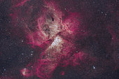 The majestic Eta Carinae nebula.