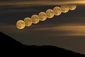 June 17, 2008 - Full Moonrise, Lumby, British Columbia, Canada.