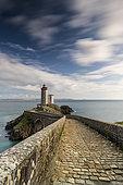 Petit Minou lighthouse, Rade de Brest, Plouzané, Finistère, Brittany, France