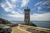 Kermorvan lighthouse, Le Conquet, Finistère, Brittany, France