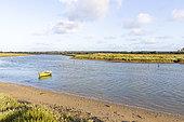Estuary of Payré, Marais vendéen, Talmont St Hilaire, Vendée, Pays de Loire, France