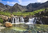 Fairy Pools, Isle of Skye, Scotland, United Kingdom, Europe