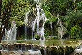 Tufs waterfall, Jura, France