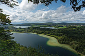 Vue depuis le belvédère des 4 lacs, Jura, France