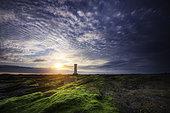 The English Tower at sunset, Damgan, Morbihan, Brittany, France