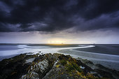 Pointe du Grouin du Sud, Mont-Saint-Michel Bay, Manche, France