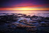 Sunset, Damgan, Gulf of Morbihan, Brittany, France