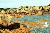 Granite Chaos, Pink Granite Coast, Brittany, France
