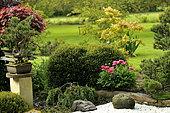 Moulin de la Lande Japanese Garden, Côtes d'Armor, Brittany, France