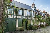 Gerberoy, a village in the Pays de Bray picard with the label Plus Beaux Villages de France, Oise, France