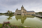 Castle of Chantilly and Condé Museum, Domaine de Chantilly, Chantilly, Oise, France
