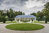 Sylvie's house on the domain of the Château de Chantilly, France
