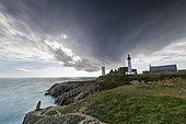 Saint-Mathieu lighthouse, Plougonvelin, Finistère, France