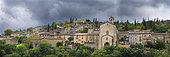 Village of Lagorce, Ardèche, France