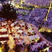 Lykavitos hill-top restaurant. Grèce, Grèce Centrale et Eubée, Athènes, Attique, SIM711671