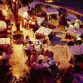 Lykavitos hill-top restaurant. Grèce, Grèce Centrale et Eubée, Athènes, Attique, SIM711673