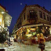 Plaka, Adrianou Street. Grèce, Grèce Centrale et Eubée, Athènes, Attique, SIM711681