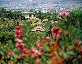 Ancient Agora, Temple of Theseion. Grèce, Grèce Centrale et Eubée, Athènes, Attique, SIM711689