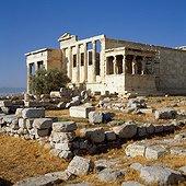 Porch of the Caryatids, Erechtheion. Grèce, Grèce Centrale et Eubée, Athènes, Attique, SIM711693