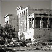 Porch of the Caryatids, Erechtheion. Grèce, Grèce Centrale et Eubée, Athènes, Attique, SIM711697