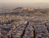 View from Lykavitos Hill. Grèce, Grèce Centrale et Eubée, Athènes, Attique, SIM711700