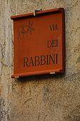 Santa Maria del Cedro - Calabria  Via dei rabbini