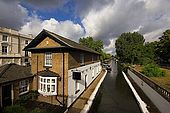 United Kingdom London Regent's Canal Little Venice View of the Grand Union Canal.
