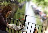 United Kingdom London Regent's Canal CafeÌ